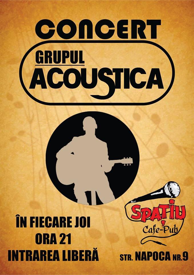 Acoustica @ Spatiu Cafe-Pub