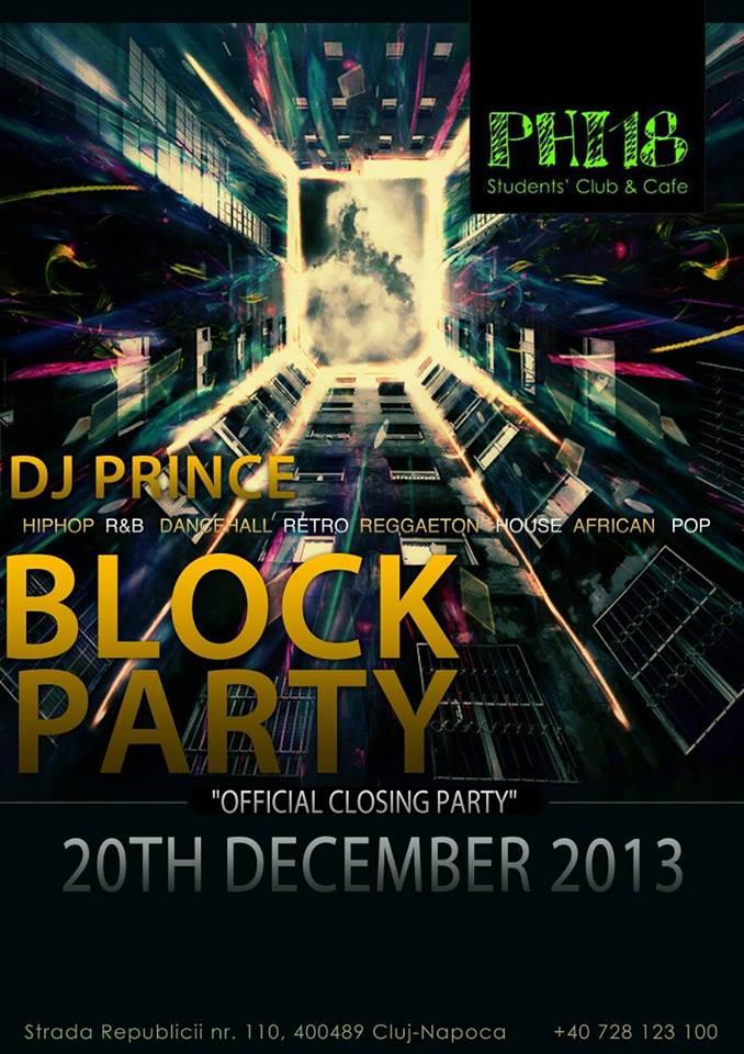 Block Party @ Club Phi18