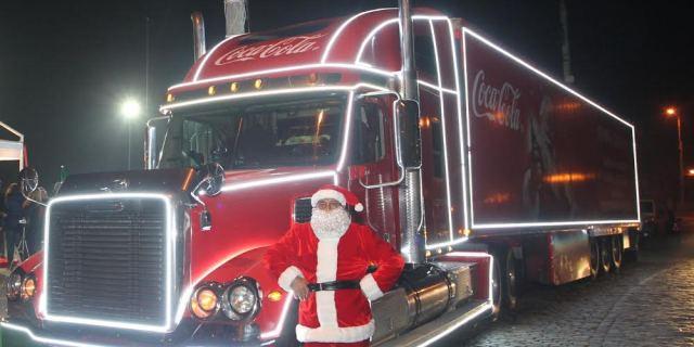 Caravana Coca-Cola ajunge la Cluj-Napoca