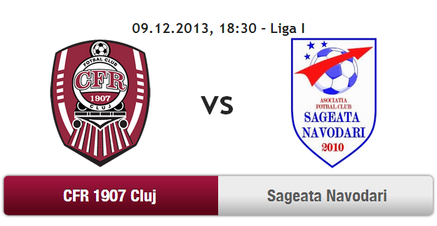 CFR Cluj – Sageata Navodari