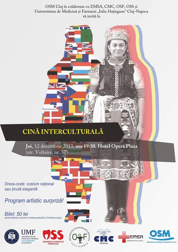 Cină Interculturală @ Hotel Opera Plaza