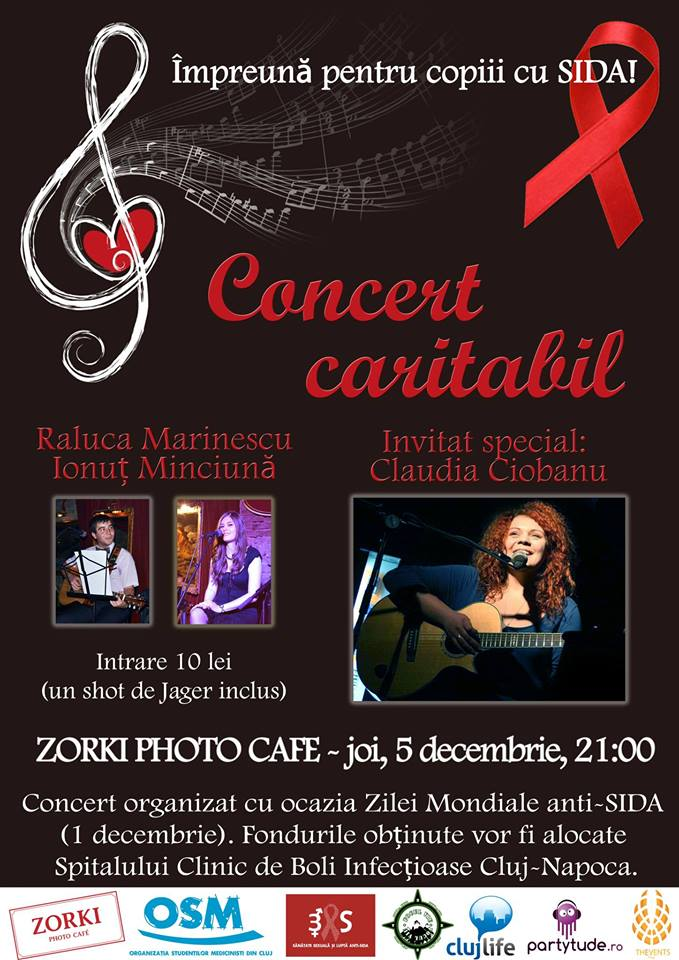 Concert caritabil @ Zorki Photo Caffe