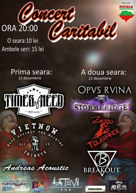 Concert caritabil @ La Tevi Pub