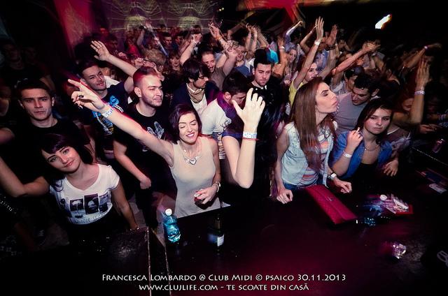 Poze: Francesca Lombardo @ Club Midi