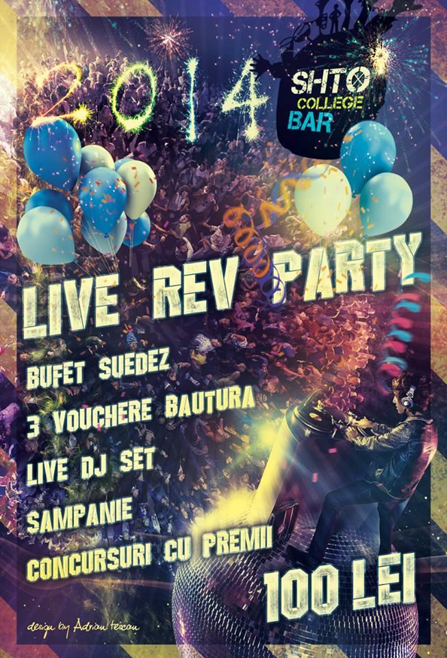 Live Rev Party @ Shto College Bar