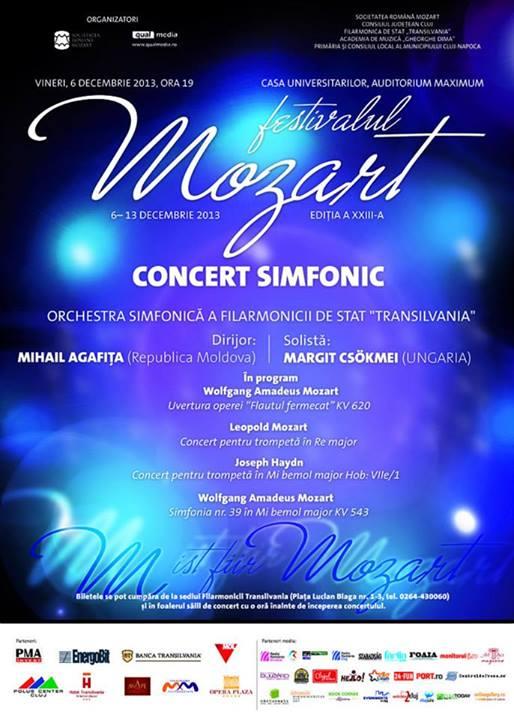 Concert de deschidere – Festivalul Mozart, ediţia a XXIII-a