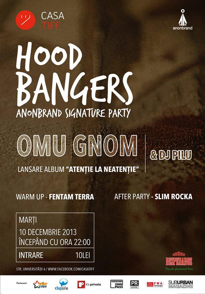 Hood Bangers: Omu Gnom – lansare album