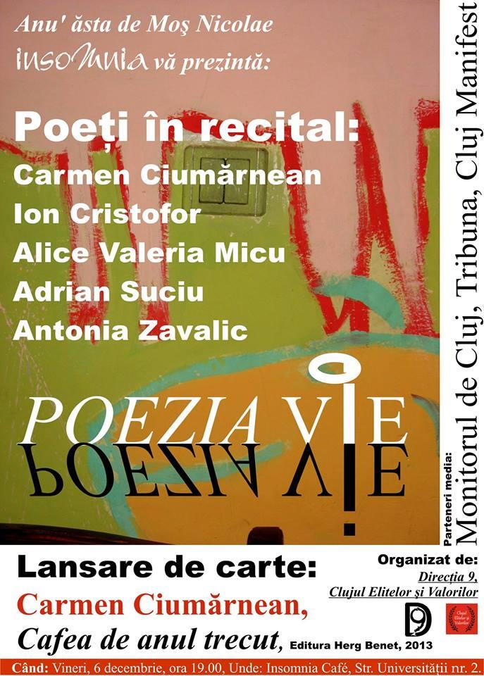 Poezia vie @ Insomnia Cafe