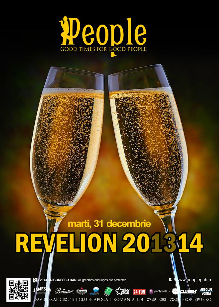 Revelion 2014 @ People Pub