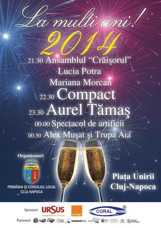 Revelion 2014 @ Piata Unirii
