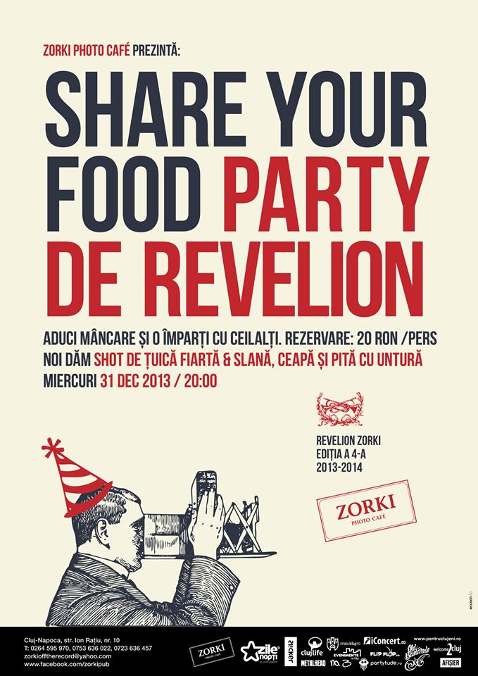 Share Your Food Party de Revelion