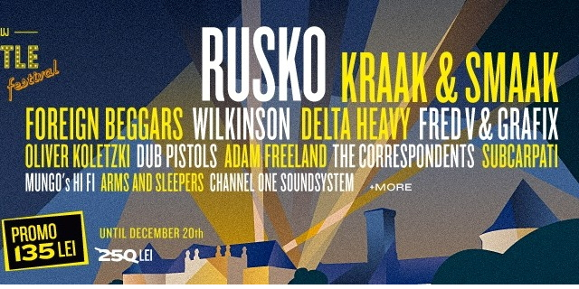 Rusko, in premiera in Romania, la Electric Castle Festival!
