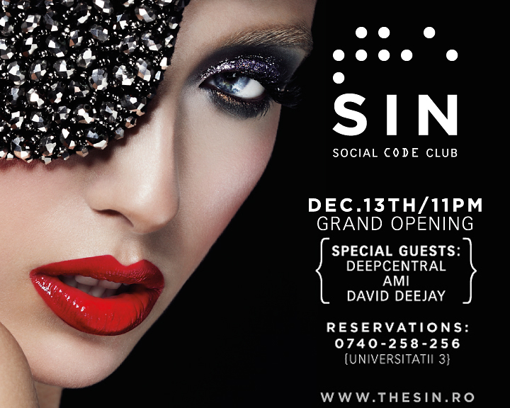 Grand Opening @ SIN Social Club
