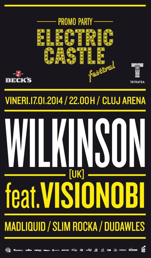 ELECTRIC CASTLE prezintă: Wilkinson @ Cluj Arena