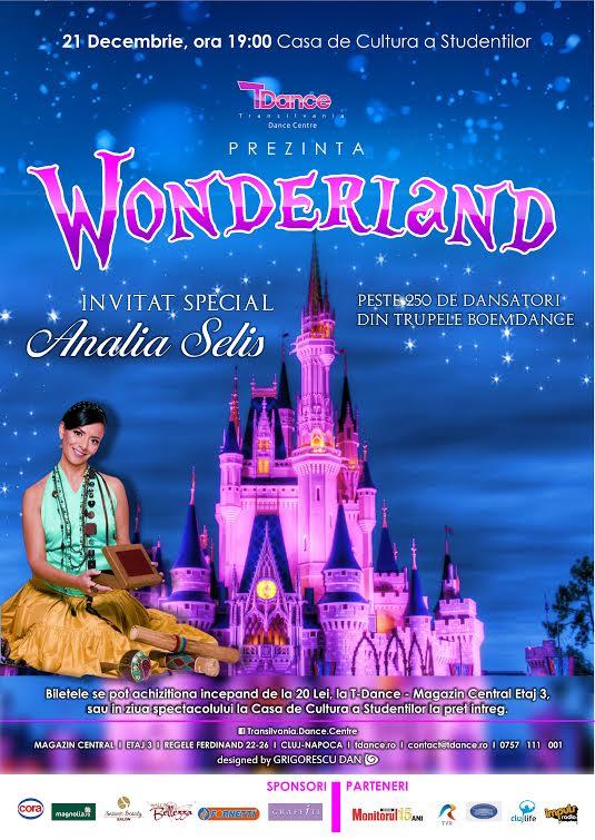 Spectacol de Crăciun: Wonderland