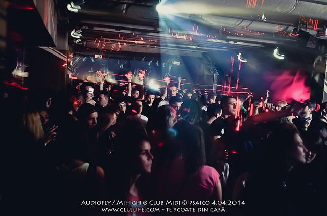 Poze: Audiofly / Mihigh @ Club Midi