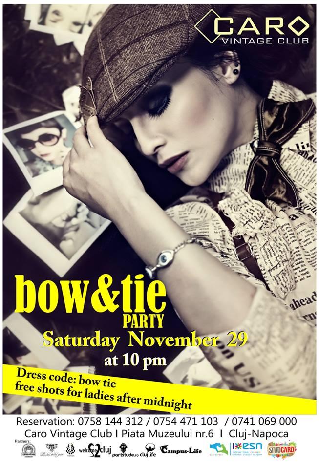 Bow & Tie Party @ Caro Club
