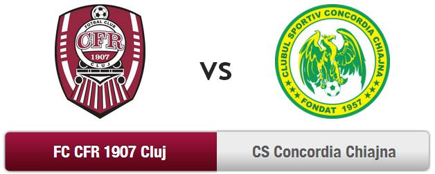 CFR Cluj – Concordia Chiajna