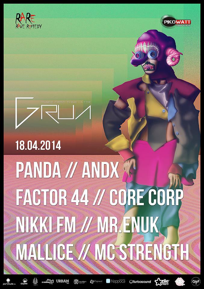 Rave Night @ Grua Club