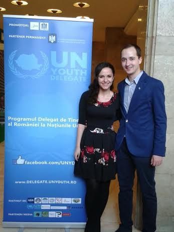 Delegații de Tineret ai României la Națiunile Unite ajung la Cluj
