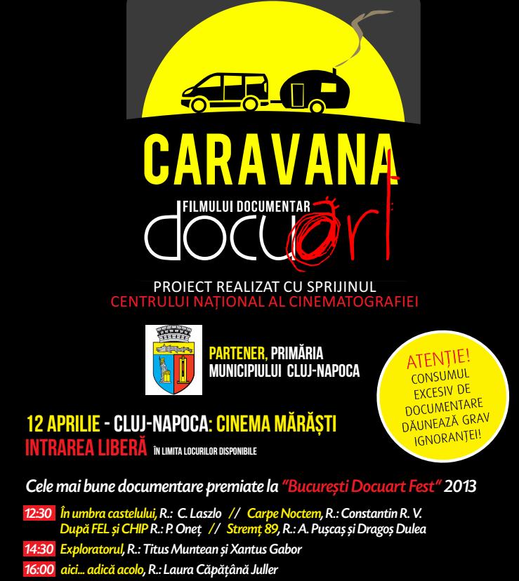 Caravana Docuart @ Cinema Marasti