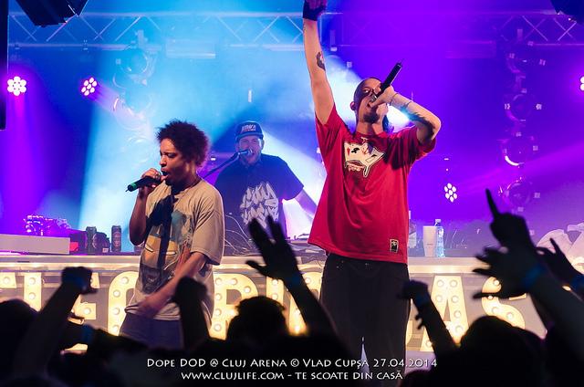 Poze: Dope DOD @ Cluj Arena