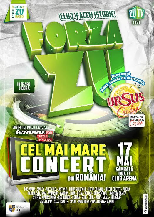 Forza ZU @ Cluj Arena