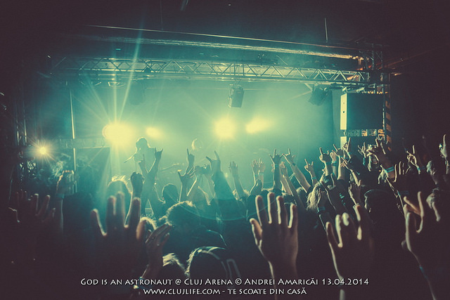 Poze: God Is An Astronaut @ Cluj Arena