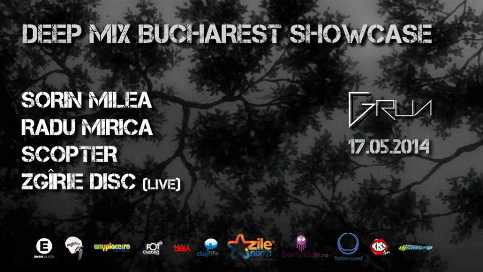 Dip Mix Bucharest Showcase @ Grua Club