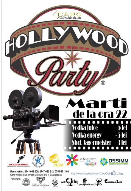 Hollywood Night @ Caro Club