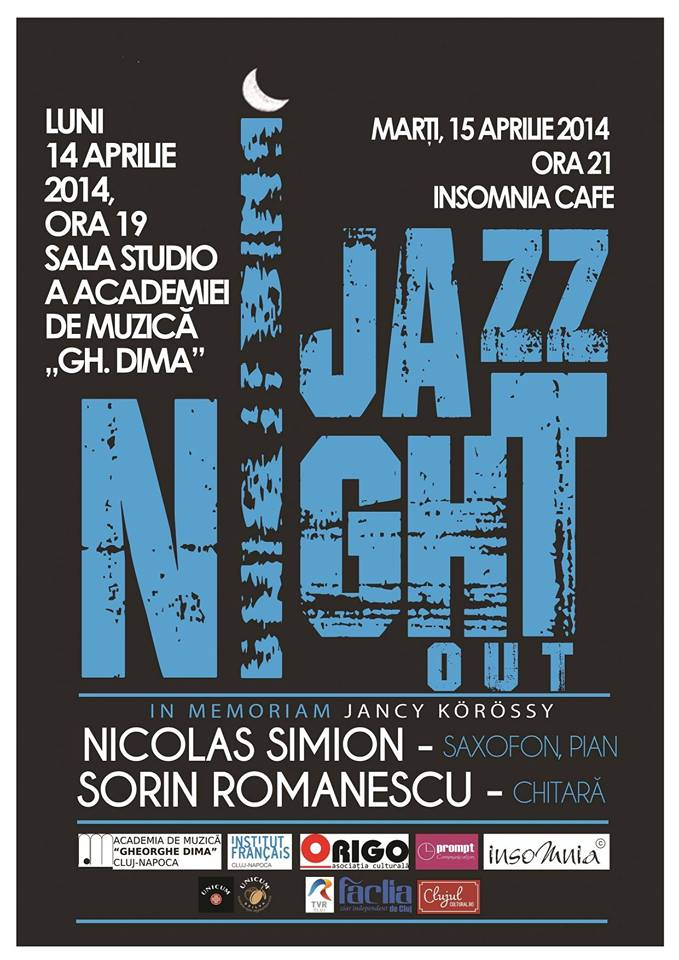 Jazz Night Out @ Insomnia Cafe