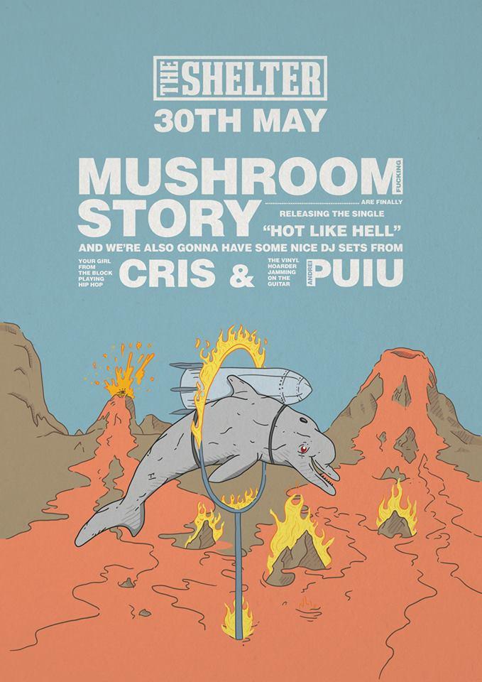 Mushroom Story @ The Shelter