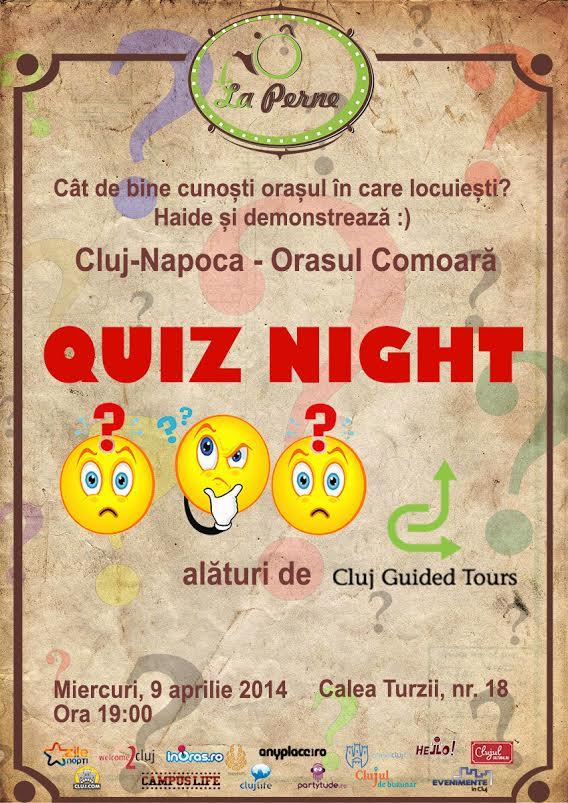 Quiz Night @ La Perne