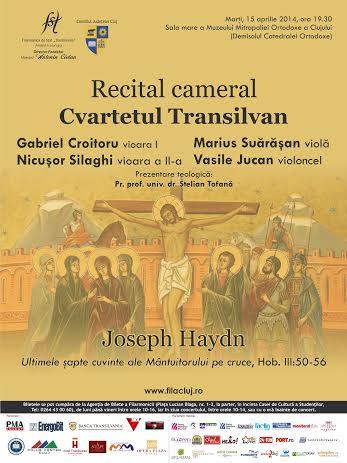 Recital cameral @ Mitropolia Ortodoxa a Clujului
