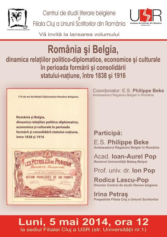 România şi Belgia @ Filiala Cluj a USR