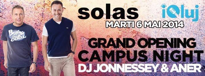 Campus Night @ Solas Lounge