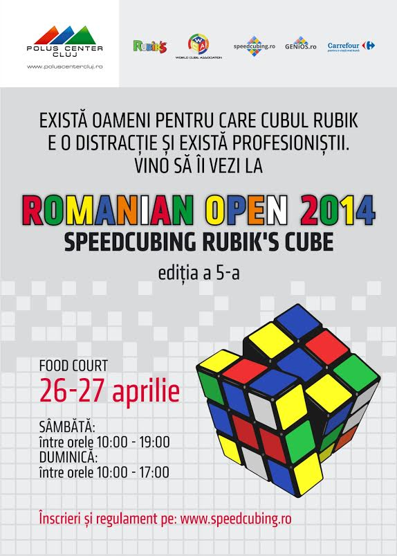 Speedcubing Romanian Open @ Polus Center