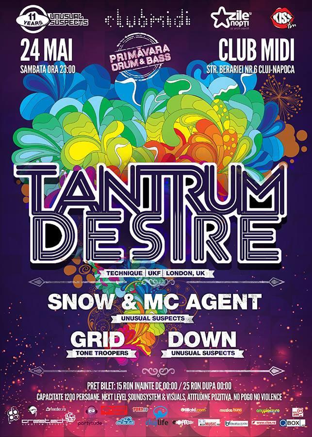 Tantrum Desire @ Club Midi