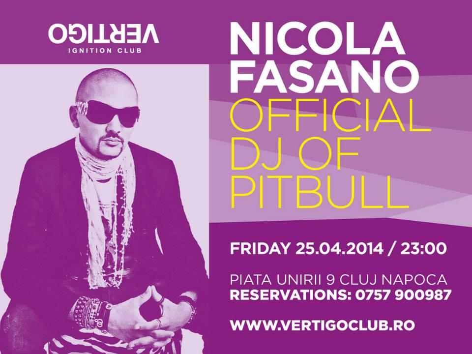 Nicola Fasano @ Vertigo
