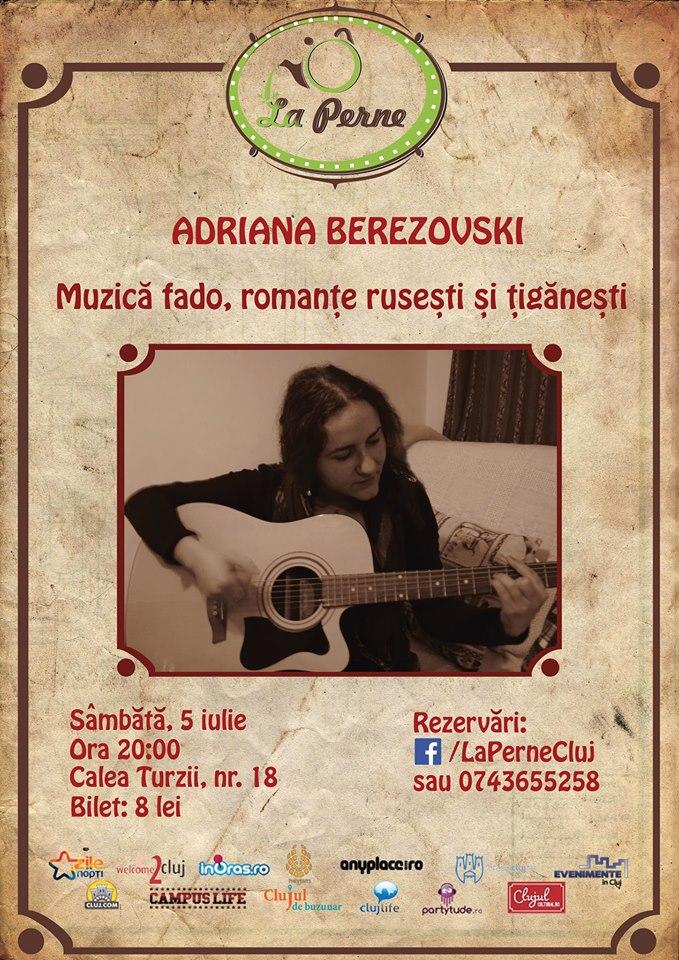 Adriana Berezovski @ La Perne