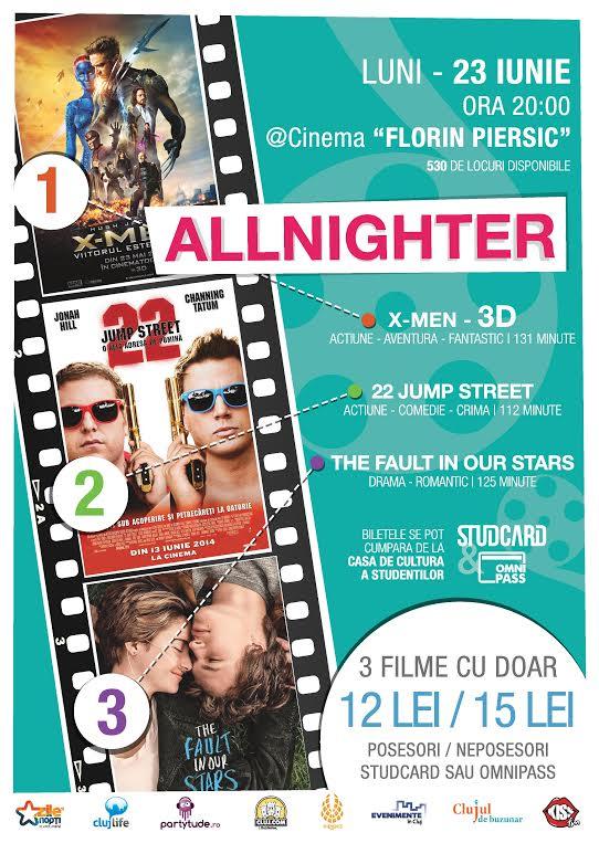 AllNighter #6 @ Cinema Florin Piersic