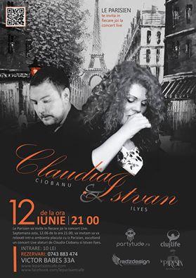 Claudia & Istvan @ Le Parisien