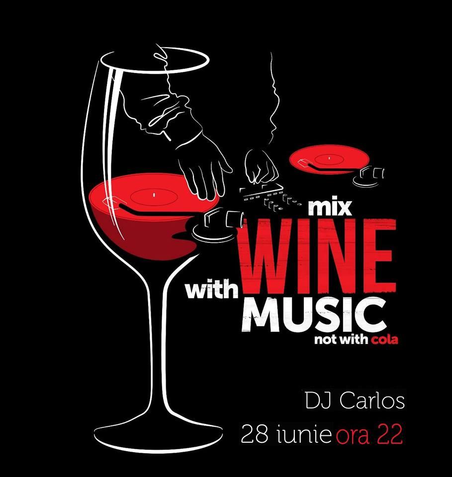 Party with DJ Carlos @ Crush Wine Bar