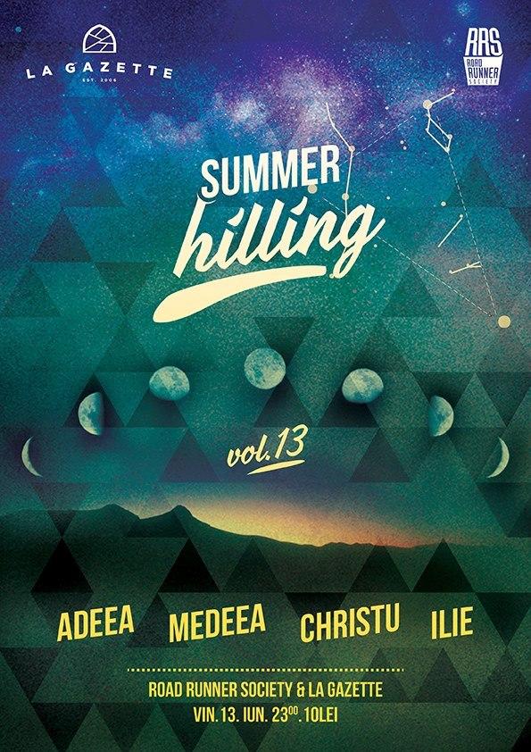 Summer Hilling @ La Gazette