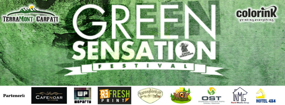 Green Sensation Festival @ Lacul Tarnita