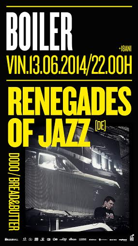 Renegades Of Jazz @ Boiler Club