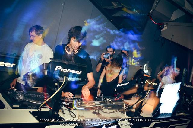 Poze: Praslesh / Barac / Mihigh @ Club Midi