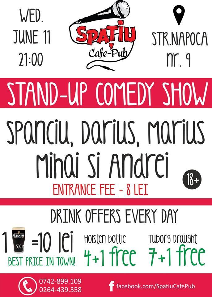 Stand-Up Comedy + Improv