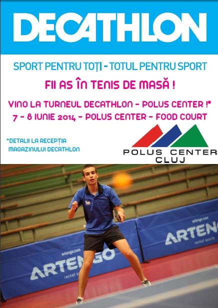 Turneu de tenis de masă @ Polus Center