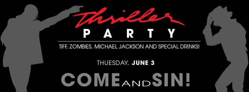 Thriller Party @ The SIN